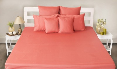 House This Cotton Plain King sized Double Bedsheet