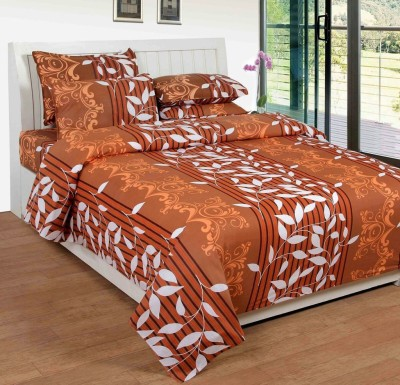 AZ Cotton Polka Double Bedsheet