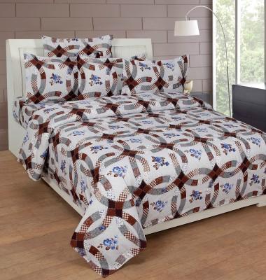 NIRWANA Polycotton Paisley Double Bedsheet