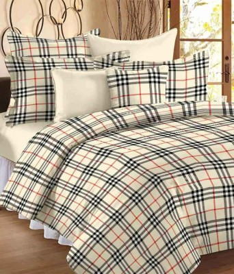 Relax Feel Cotton Floral King sized Double Bedsheet