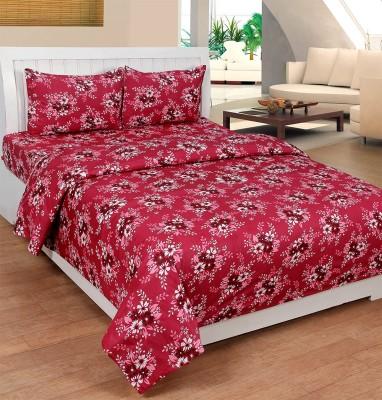 Ultimate Home Decor Cotton Floral Double Bedsheet