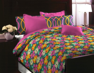Home Bee USA Cotton Floral Double Bedsheet