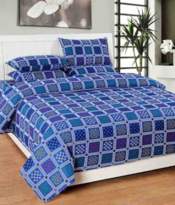 omne Cotton Cartoon Double Bedsheet