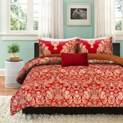 garima 7 star Cotton Floral Double Bedsheet
