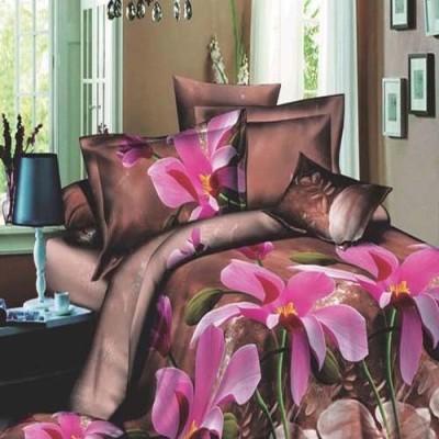 Shri Creation Polycotton Floral Double Bedsheet
