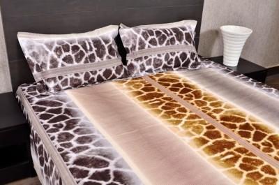 Banana Prints Cotton Double Bedsheet