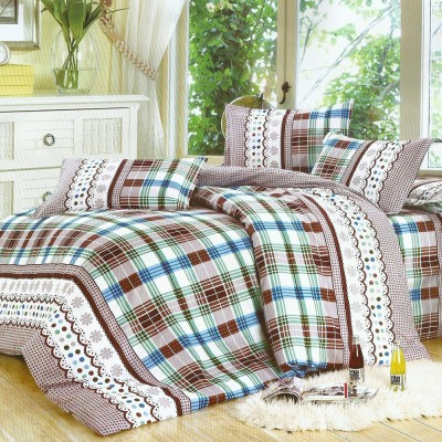 Looms of India Cotton Printed Double Bedsheet