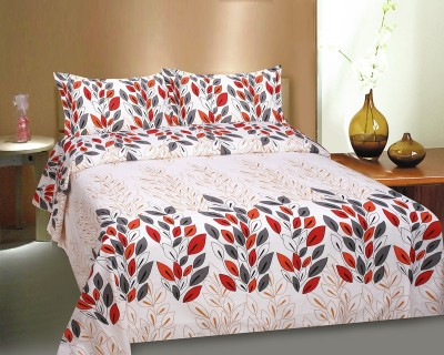Ctm Textile Mills Cotton Abstract Queen sized Double Bedsheet