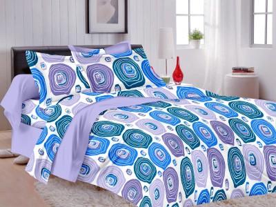 MB Cotton Polka Double Bedsheet