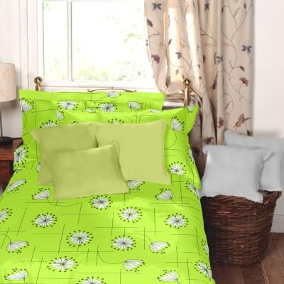 Dreamscape Cotton Floral Single Bedsheet