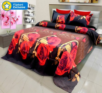 Signature Polyester, Polycotton Floral Bedsheet