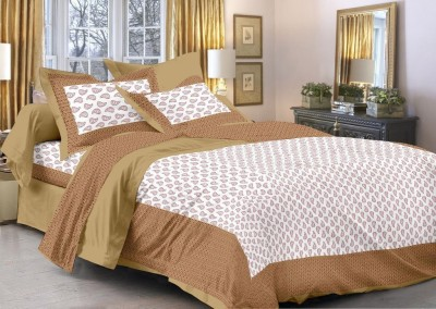 Enviro Cotton Printed Double Bedsheet