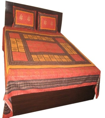 Charu Exports Cotton Printed Double Bedsheet