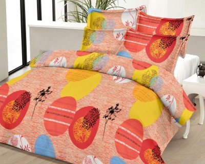 Urbano Homz Cotton Printed Double Bedsheet
