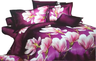 Krazzy Collection Cotton Floral Double Bedsheet
