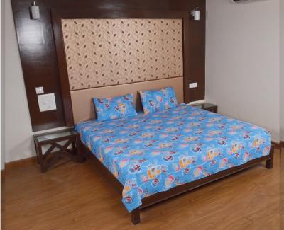 Factorywala Cotton Printed Double Bedsheet