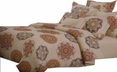 Vg store Velvet Paisley Double Bedsheet