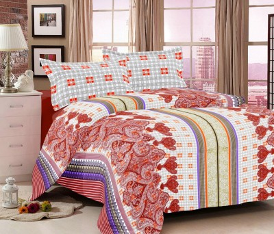 Madhavs Cotton Paisley Double Bedsheet