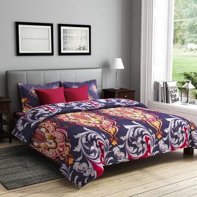 RAGO Polycotton Self Design Double Bedsheet