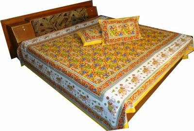 N DeCor Cotton Animal Double Bedsheet