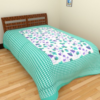 Aone Collection Cotton Printed Single Bedsheet