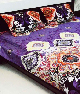 Gopani Traders Polycotton Printed Queen sized Double Bedsheet