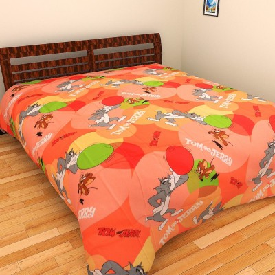 Portico New York Cotton Cartoon Double Bedsheet