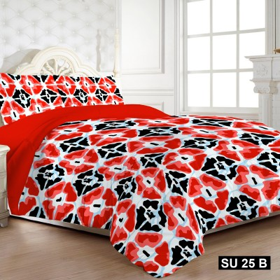 Bed Story Polycotton Geometric Double Bedsheet