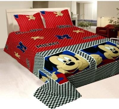 RedHot Cotton Cartoon Double Bedsheet