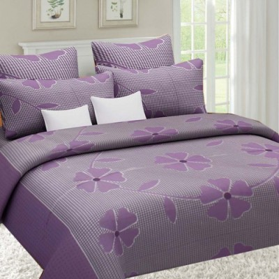 Sai Arpan Cotton Floral Double Bedsheet