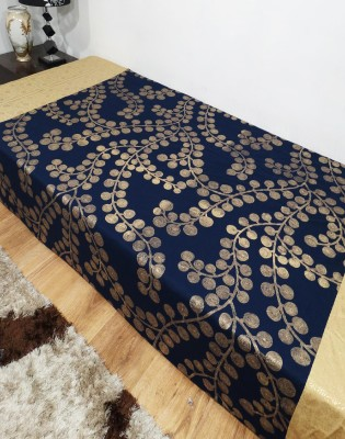 Heritagefabs Cotton Abstract Single Bedsheet