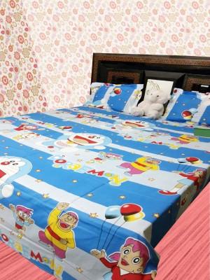 Ruhi Home Furnishing Polycotton Printed Double Bedsheet