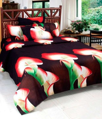 MEHAR HOME Polycotton Printed Double Bedsheet