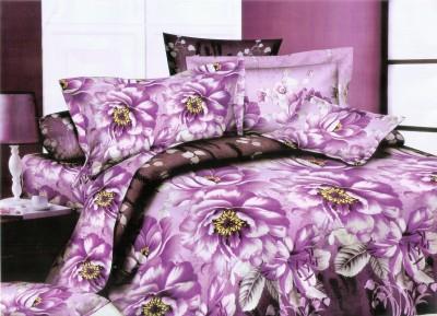 Leocapult Polycotton Floral Double Bedsheet