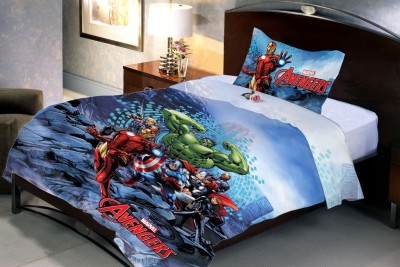 Uber Urban Cotton Cartoon Single Bedsheet