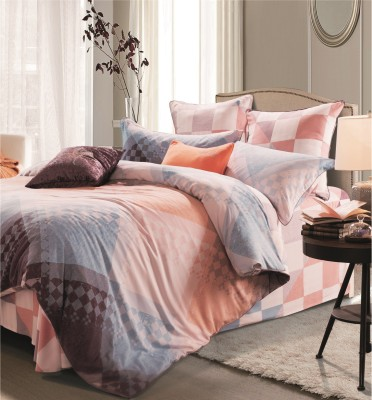 Sassoon Orro Cotton Abstract Queen sized Double Bedsheet