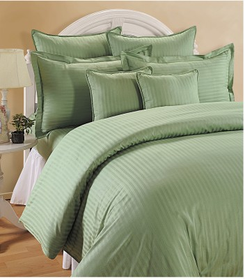 Swayam Cotton Striped Queen sized Double Bedsheet