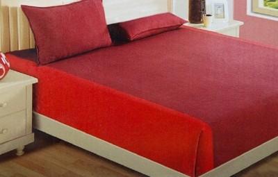 WG Fabs Cotton Plain King sized Double Bedsheet