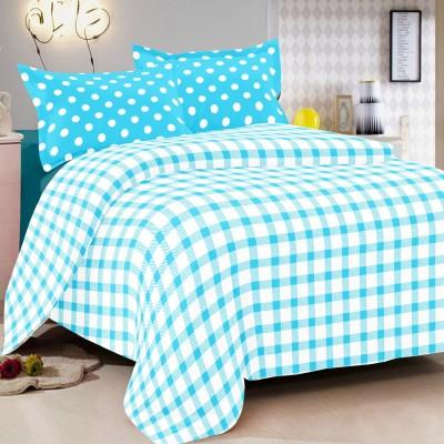 Vintana Cotton Polka Queen sized Double Bedsheet