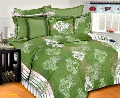 Aalidhra Techtex Cotton Floral Double Bedsheet