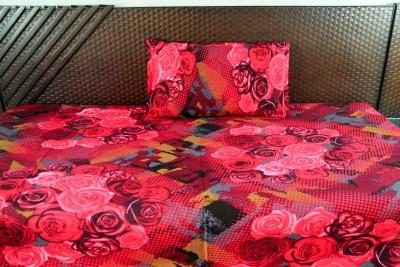 Ramabhakta Cotton Printed Single Bedsheet