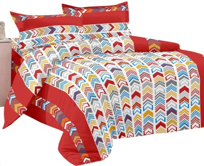 Manzoni by KAWAI COLLECTION Cotton Printed Double Bedsheet