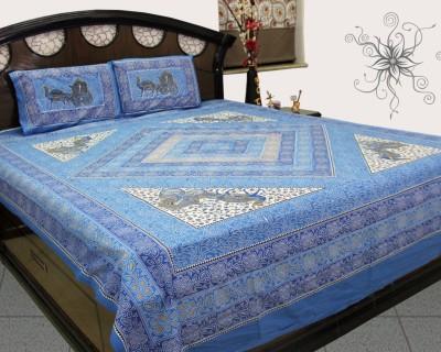 SheetKart Cotton Animal Single Bedsheet
