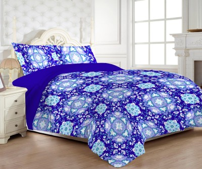 Bed Story Polycotton Floral Double Bedsheet