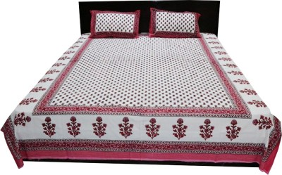 Shopping Rajasthan Cotton Floral Double Bedsheet