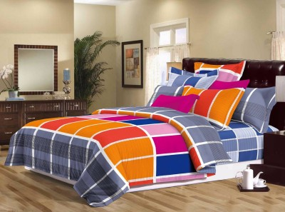 Sassoon Polyester Abstract Double Bedsheet