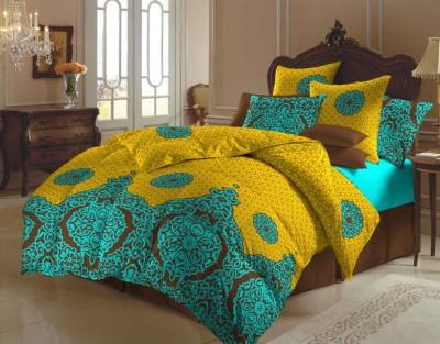 Arto Polycotton Abstract Double Bedsheet