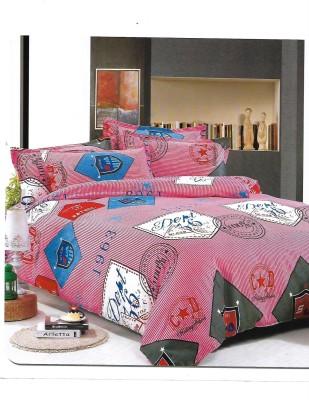 Sudesh Handloom Cotton Text Print Queen sized Double Bedsheet