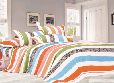 Story @ Home Polycotton Printed King sized Double Bedsheet