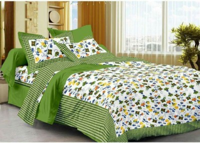 Jaipur Printex Cotton Printed Double Bedsheet at flipkart